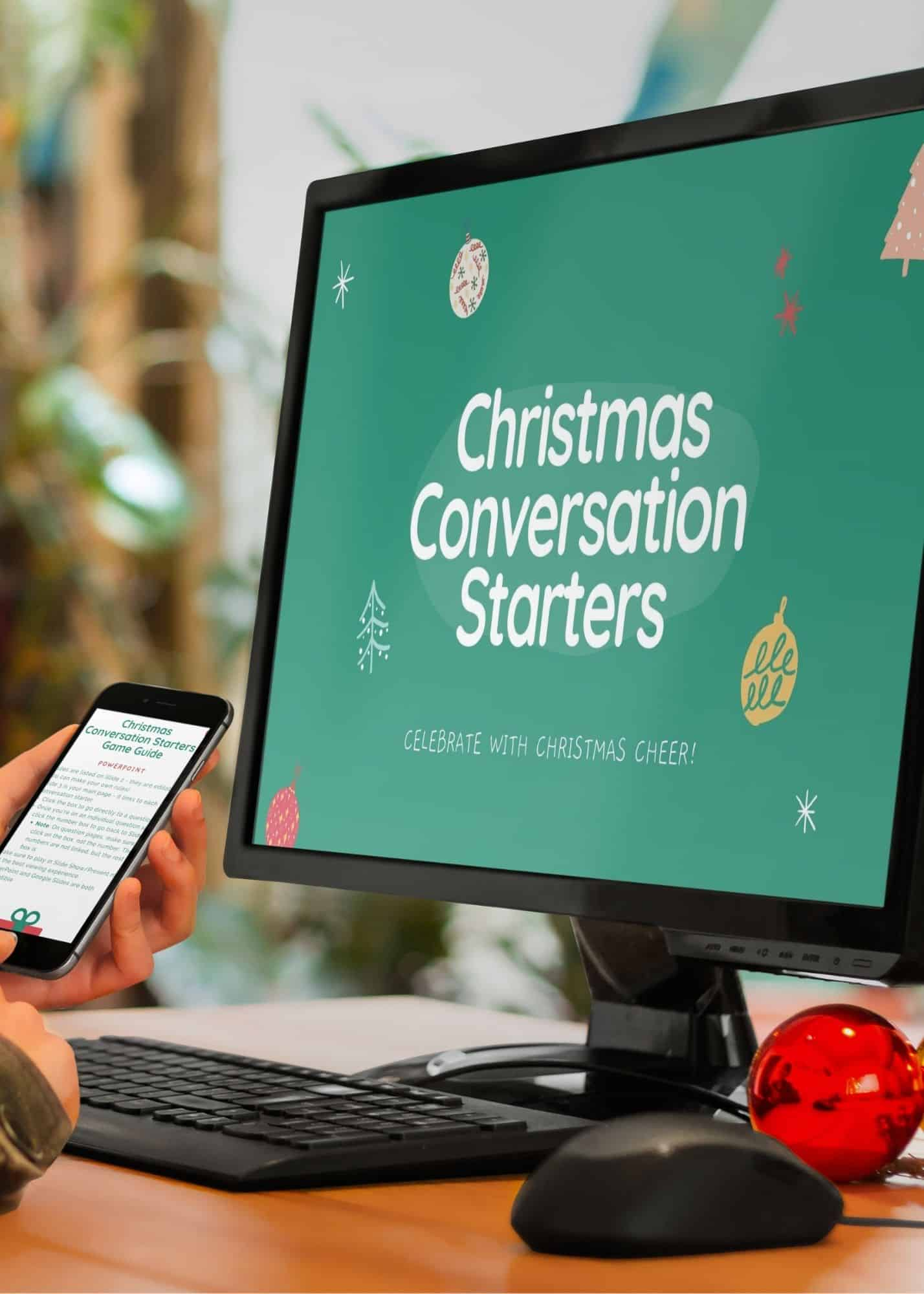 Virtual Christmas Conversation Starters Game