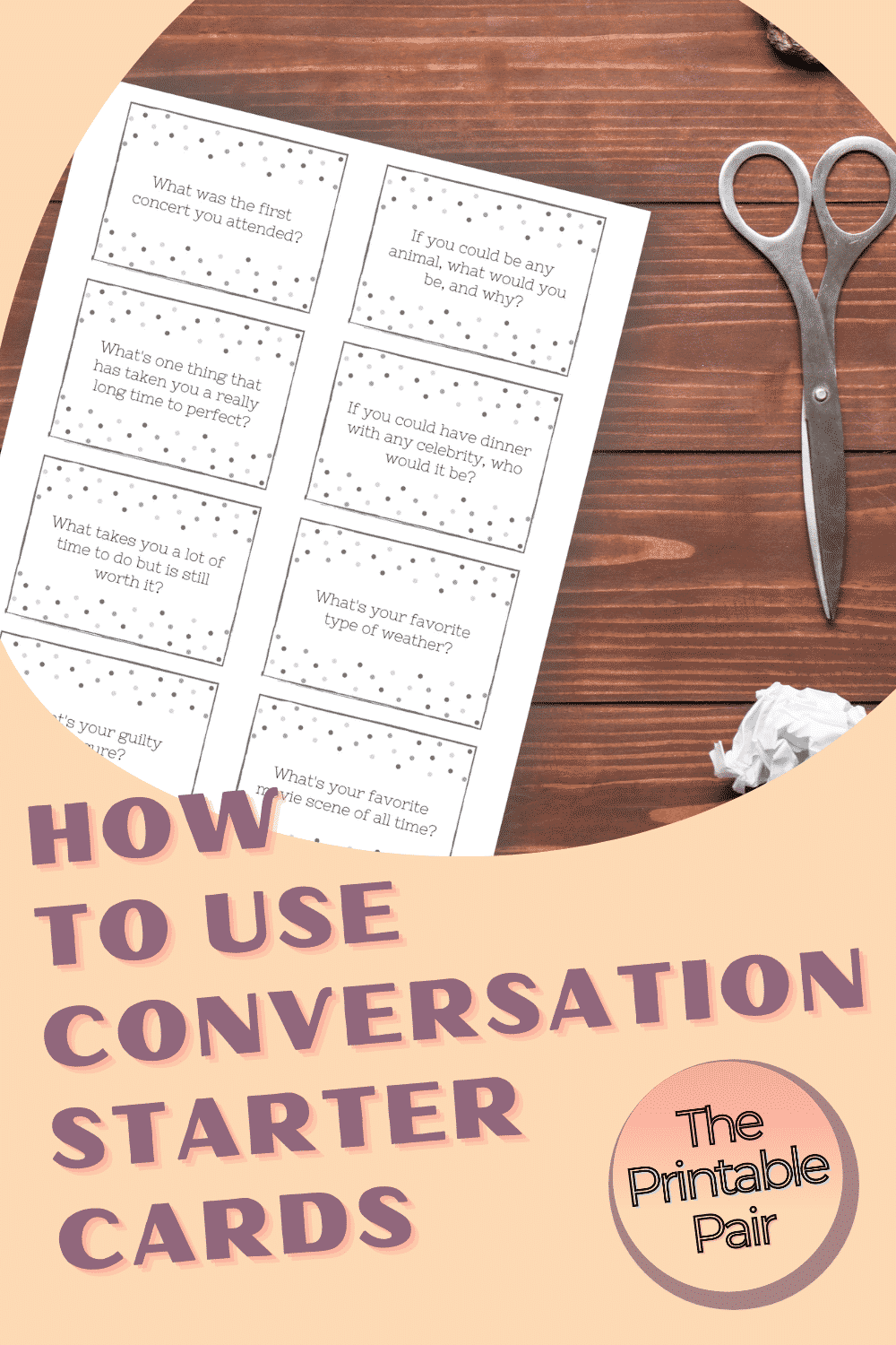 How to Use Conversation Starters