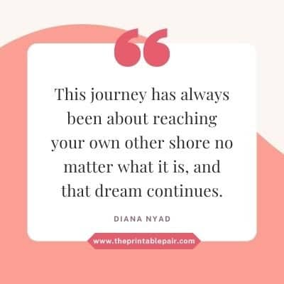 This journey has always been about reaching your own other shore no matter what it is, and that dream continues.