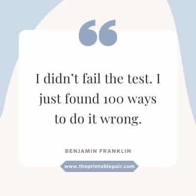 I didn't fail the test. I just found 100 ways to do it wrong.