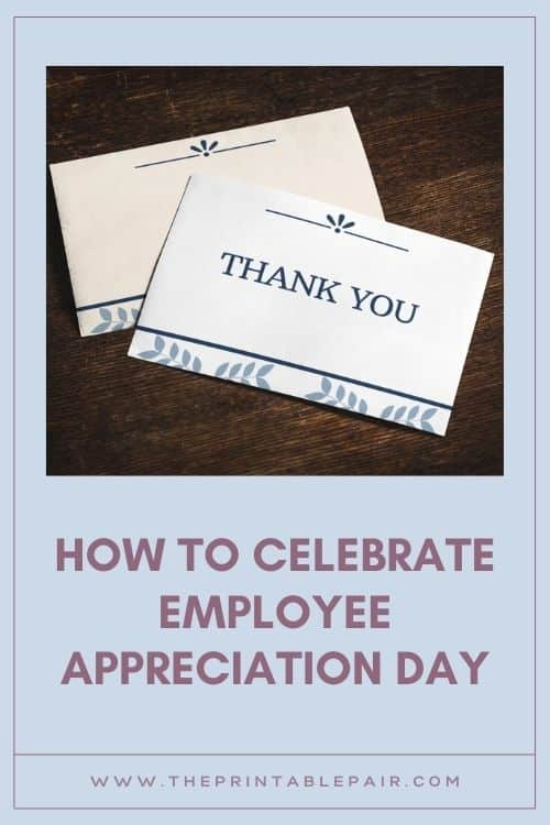 How To Celebrate Employee Appreciation Day
