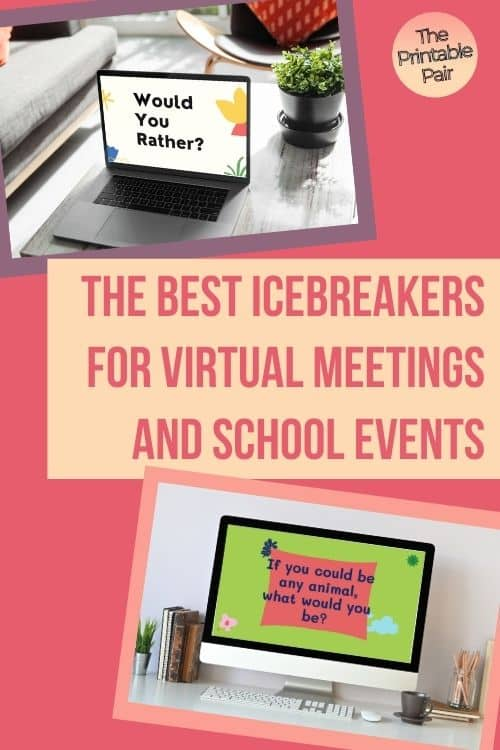 The Best Icebreakers for Virtual Meetings and School Events